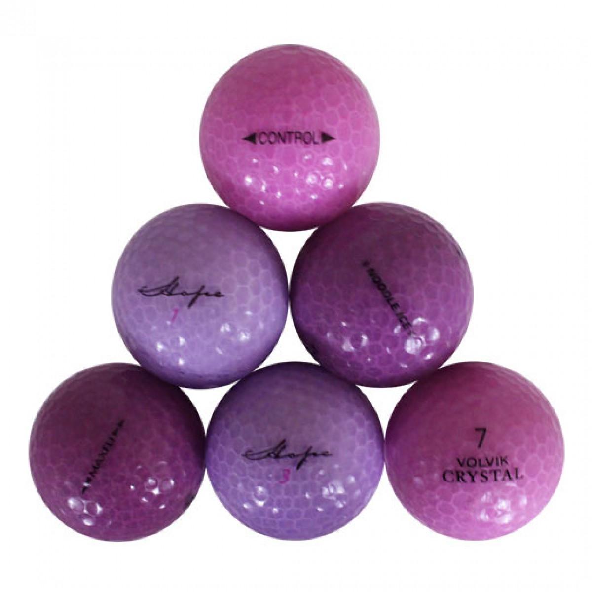 Bridgestone Near Me >> Crystal Mix Purple used golf balls