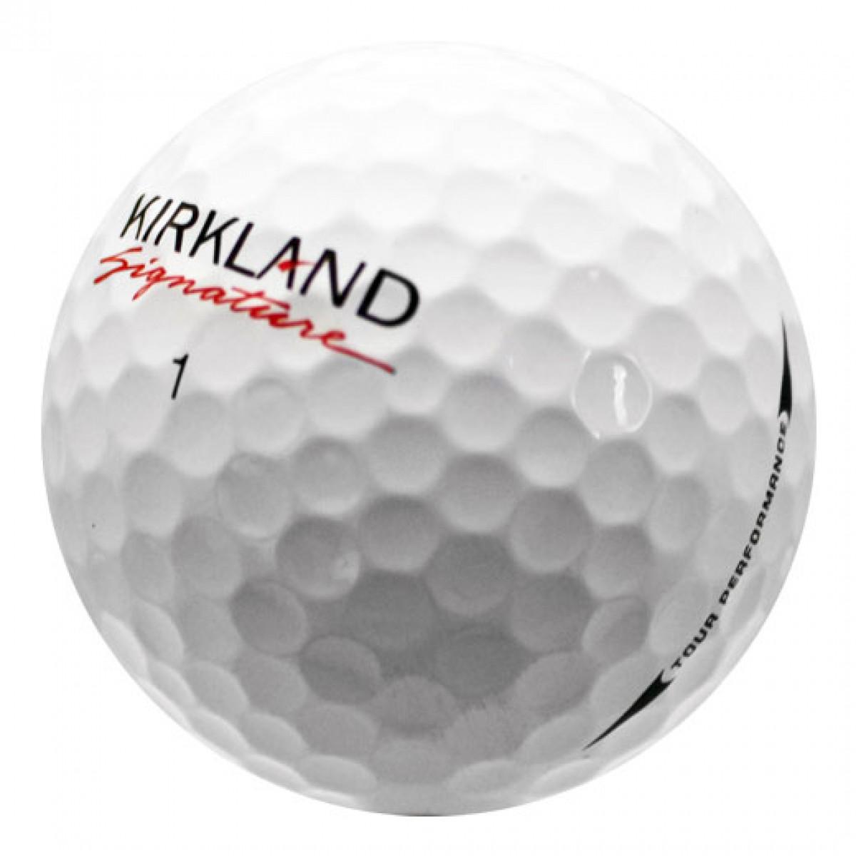 Kirkland Signature used golf balls on