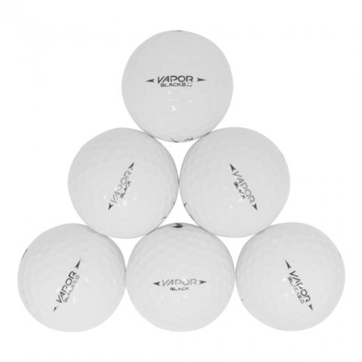 purchase cheap fc520 7b095 Nike One Vapor Black Mix used golf balls