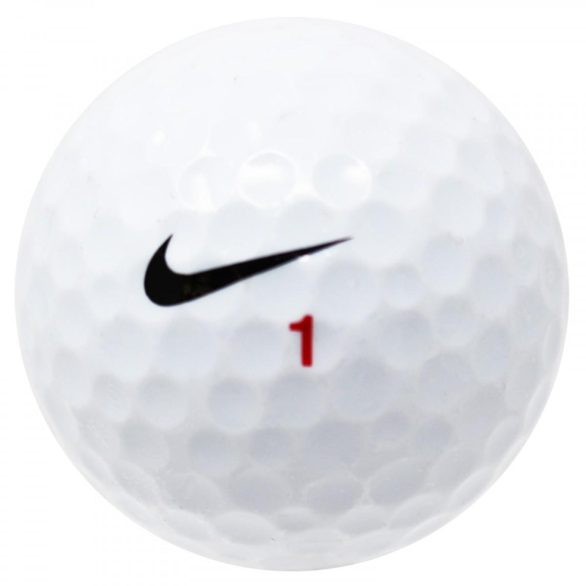 versus una vez intervalo  Nike RZN Mix used golf balls