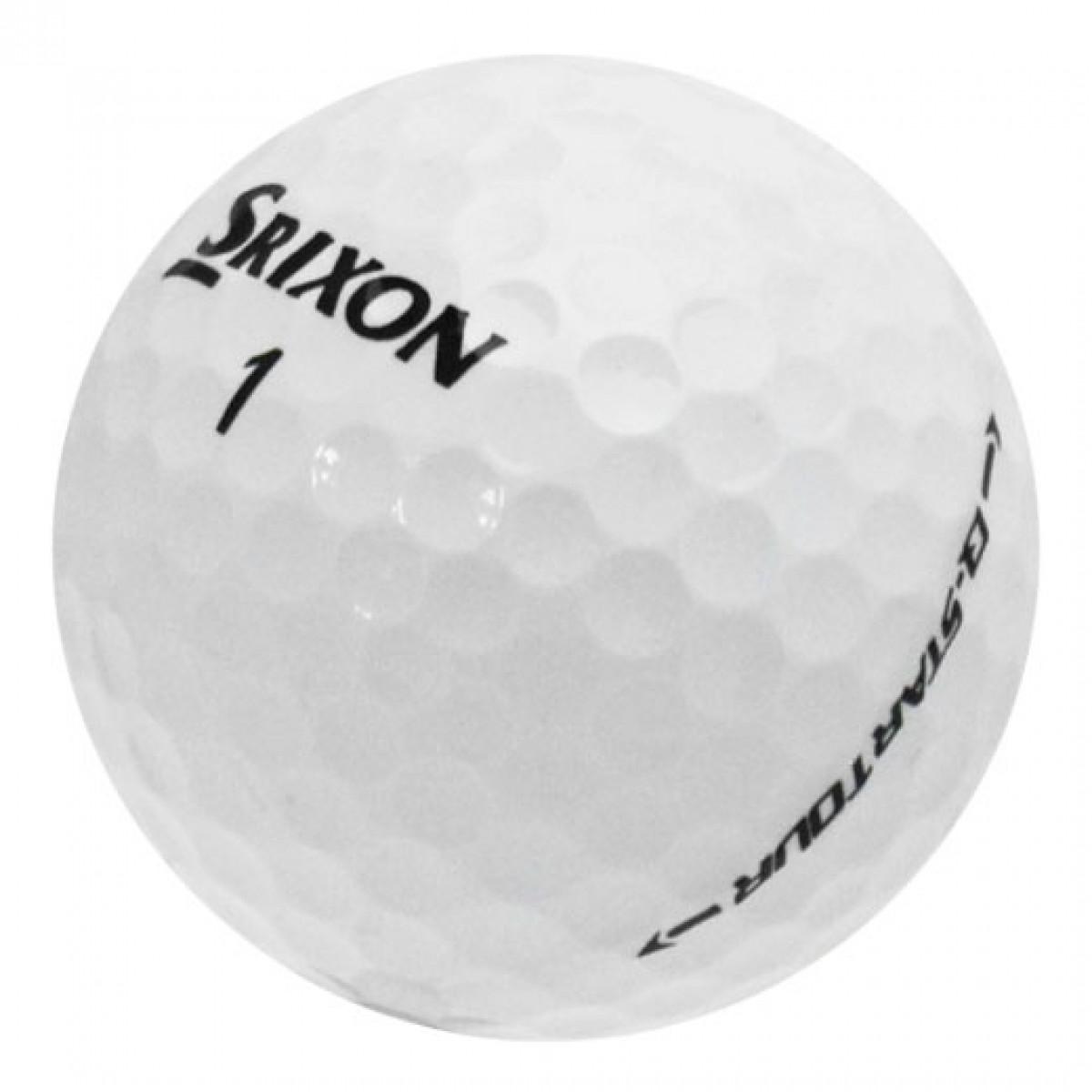 Srixon Q-Star Tour used golf balls on