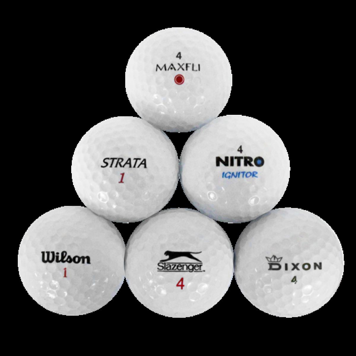 4da83c9e12 Value Mix used golf balls