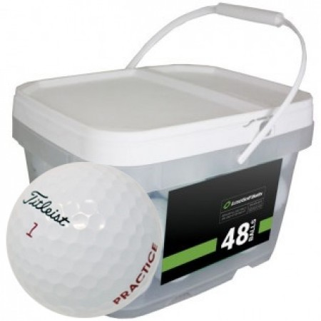 48 Titleist Pro V1x 2018 PGA Tour Players Practice Bucket