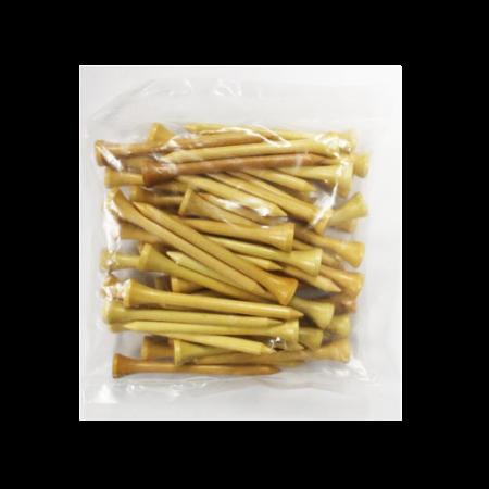 2 3/4 Wood Tees-50 Pack-Natural