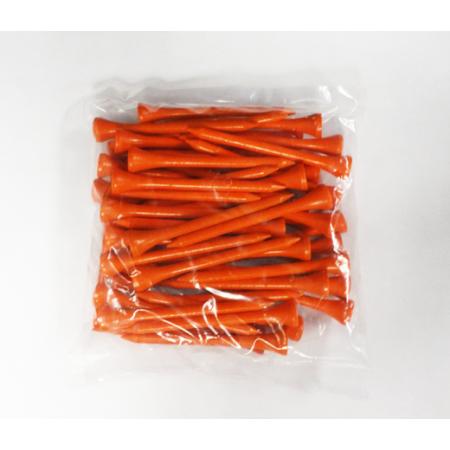 2 3/4 Wood Tees-50 Pack-Orange