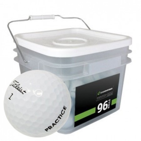 96 Titleist Pro V1 2018 PGA Tour Players Practice Bucket