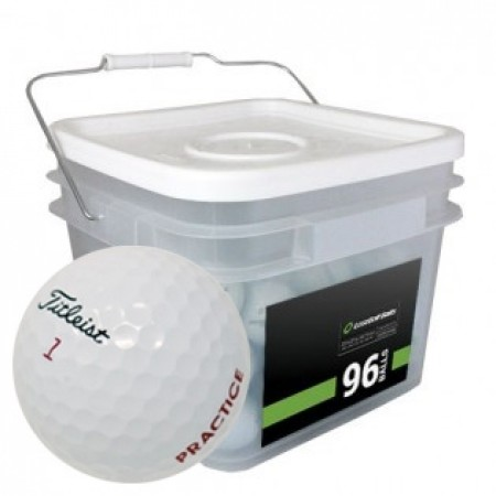 96 Titleist Pro V1x 2018 PGA Tour Players Practice Bucket