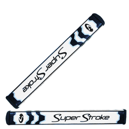 Super Stroke Flatso Grip 1.0 Black with Counter Core
