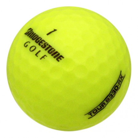 Bridgestone Tour B330-RX Yellow - Mint (5A) - 1 Dozen