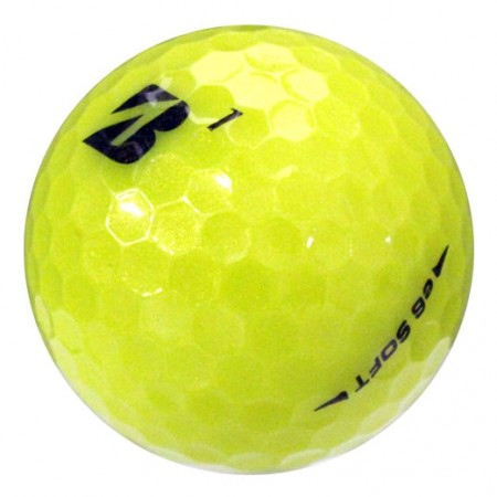 Bridgestone e6 Soft Yellow - Near Mint (4A) - 1 Dozen