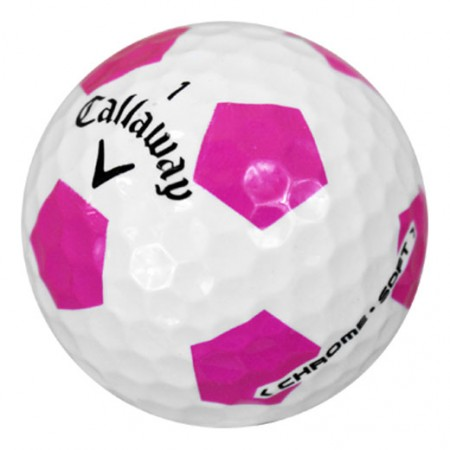 Callaway Chrome Soft Truvis Pink - Good (3A) - 1 Dozen