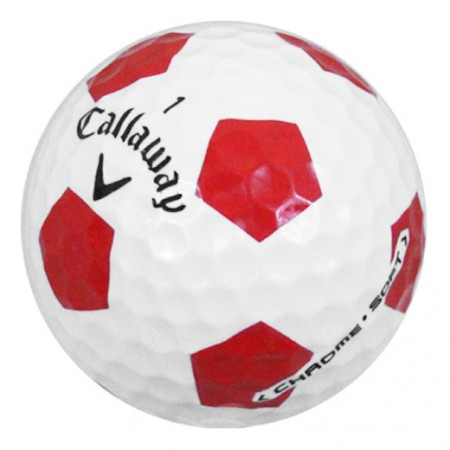 Callaway Chrome Soft Truvis Red  - 1 Dozen