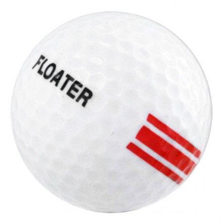 New Floater Golf Ball-White/Red