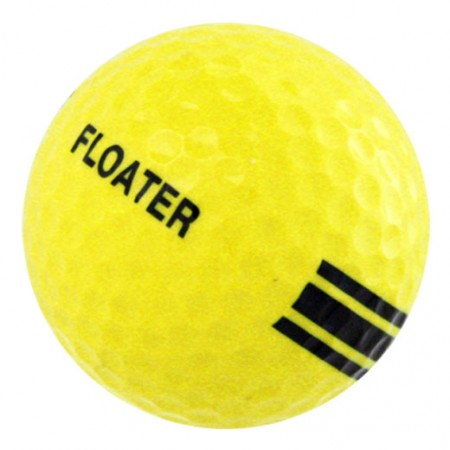 New Floater Golf Ball-Yellow/Black