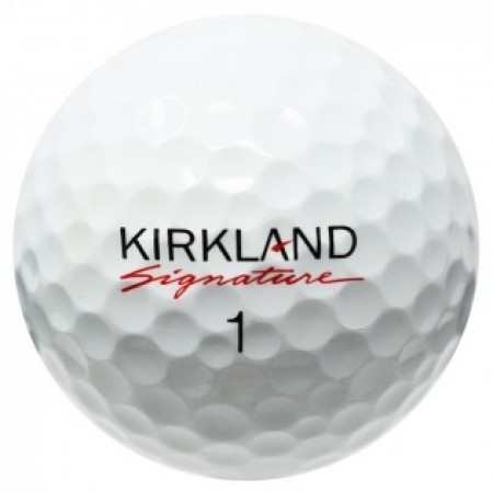 120 Kirkland Signature Golf Balls *Fast Free Shipping - No Minimum Purchase Required!*