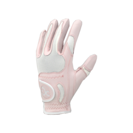 One Size Fits All Womens Glove-Pink (Left Hand)