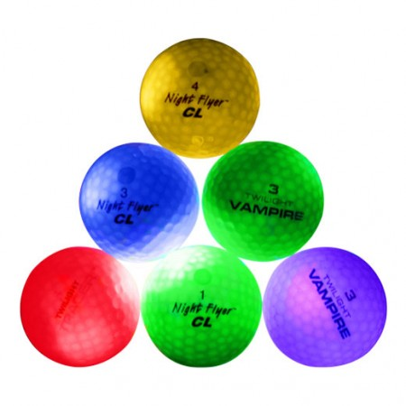 NightFlyer Glow Ball Color Mix