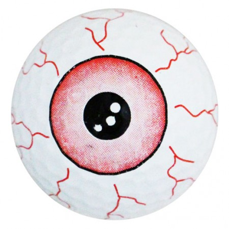 Eyeball Print Novelty Golf Balls