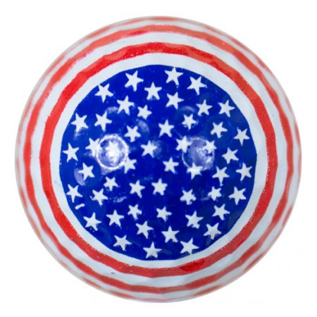 Stars and Stripes Print Novelty Golf Balls