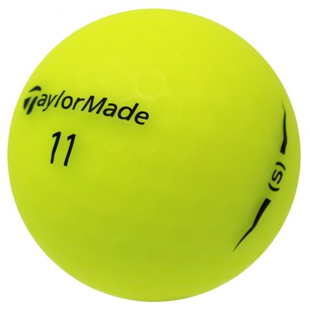 TaylorMade Project (s) Matte Yellow - 1 Dozen