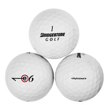 Bridgestone e6 - Factory Refinished No Logo - 1 Dozen