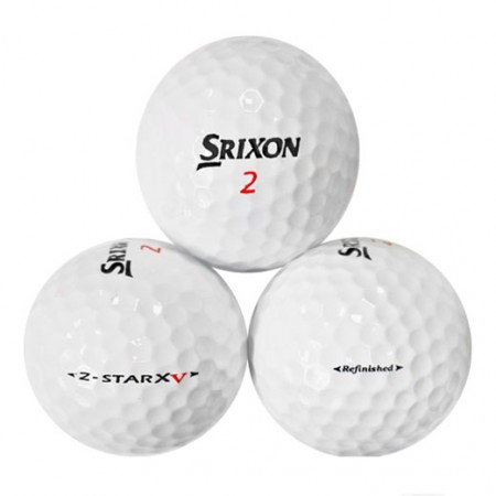 Srixon Z-Star XV - Factory Refinished No Logo - 1 Dozen