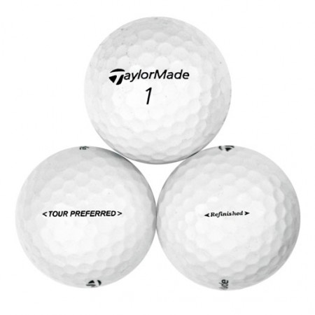 TaylorMade Tour Preferred - Factory Refinished No Logo - 1 Dozen