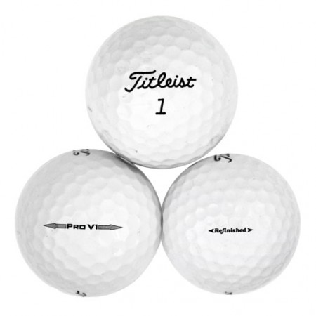 Titleist Pro V1 2014 - Factory Refinished No Logo - 1 Dozen