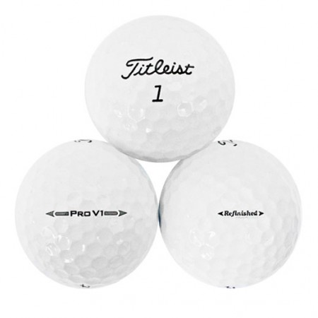 Titleist Pro V1 2016 - Factory Refinished No Logo - 1 Dozen