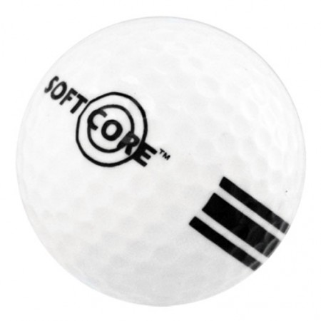 New Range Ball-White/Black-SoftCore