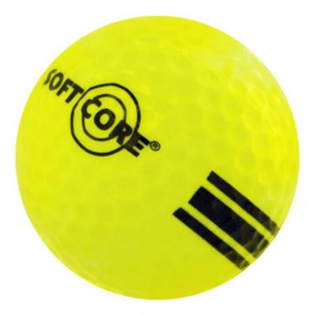 New Range Ball-Yellow/Black-SoftCore