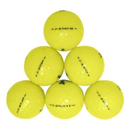 Srixon Z-Star Yellow Mix - Mint (5A) - 1 Dozen