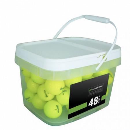 48 Srixon Z-Star Yellow Mix Bucket - Mint (5A)