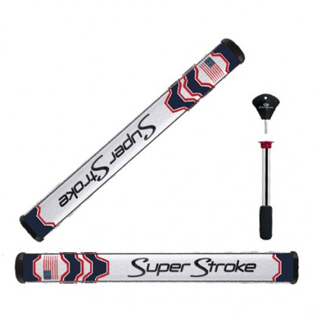 Super Stroke Grip Mid Slim 2.0 Limited Edition USA Blue with Counter Core