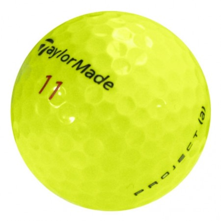 TaylorMade Project (a) Yellow - Near Mint (4A) - 1 Dozen