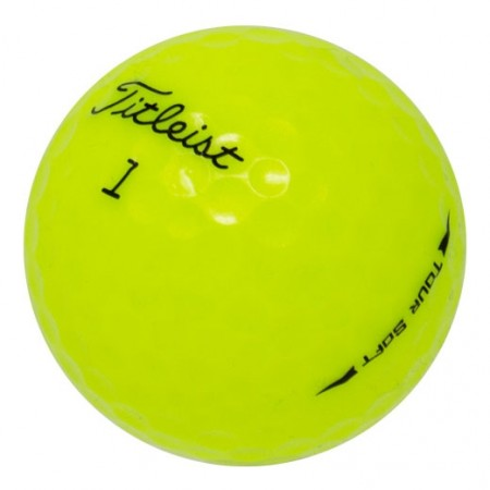 Titleist Tour Soft Yellow - 1 Dozen