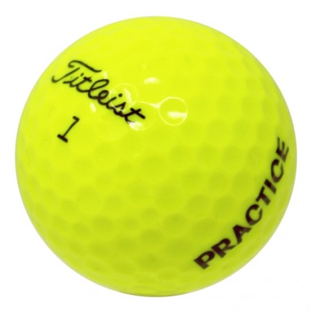 Titleist Tour Practice Yellow - 1 Dozen