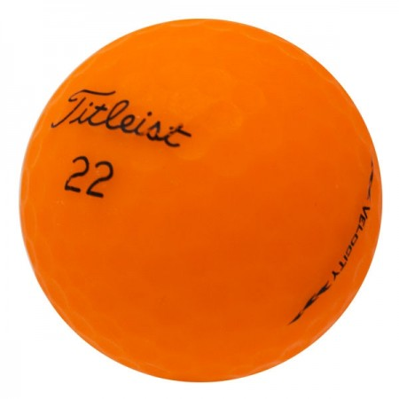 Titleist Velocity Matte Orange - 1 Dozen