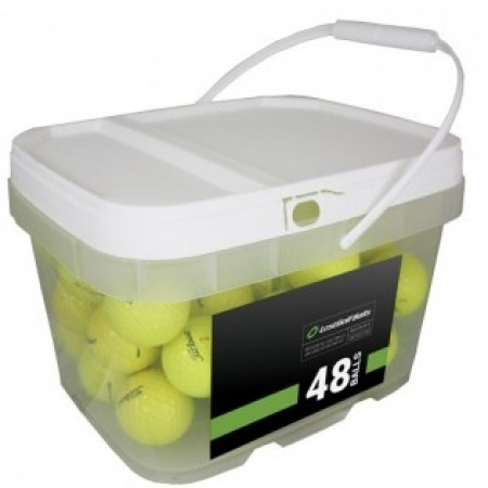 48 Titleist TruFeel Yellow Bucket