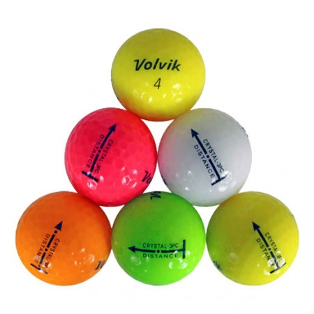 Volvik Crystal Color Mix - Mint/Near Mint - 1 Dozen
