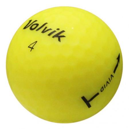 Volvik Vivid Matte Yellow - 1 Dozen