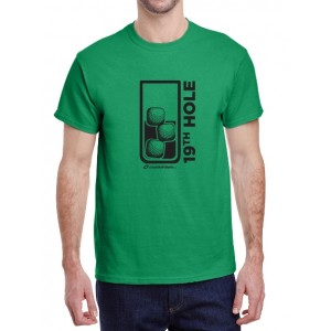 Men's 19th Hole Crew Neck T-Shirt