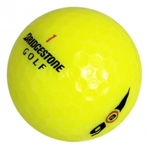 Bridgestone e6 Yellow - Near Mint (4A) - 1 Dozen