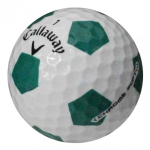 Callaway Chrome Soft Truvis Green - 1 Dozen