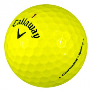 Callaway Chrome Soft Yellow - Near Mint (4A) - 1 Dozen