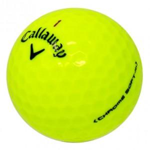 Callaway Chrome Soft X Yellow - 1 Dozen