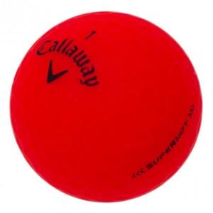 Callaway Superhot Matte Red - 1 Dozen