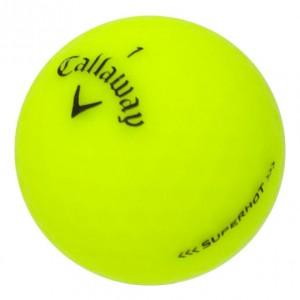 Callaway Superhot Matte Yellow - 1 Dozen