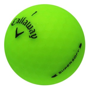 Callaway Supersoft Matte Green - 1 Dozen