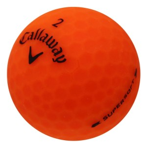 Callaway Supersoft Matte Orange - 1 Dozen